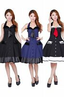 dress vintage sailor rockabilly nautical retro 50s pinup  party 1950s swing blue