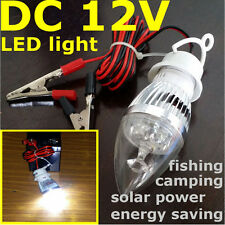 12V dc LED Mini LANTERN CAMPING TRAVEL FISHING Solar Power LAMP Emergency LIGHT