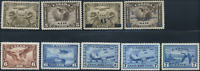 Canada #C1-C9 mint OG NH//DG 1928-1946 Air Mail Complete Set CV$117.00