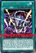 Yu-Gi-Oh! Vendetta XYZ LTGY-IT059 Rara in ITA Xyz Revenge Fortissima Carta Zexal