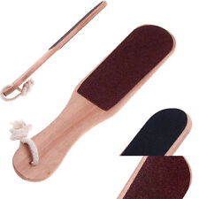 Professional Foot Rasp File Callus Remover Pedicure Tool Wood Double Sided New