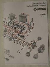 MZ ETZ 125-250 WIRING DIAGRAM