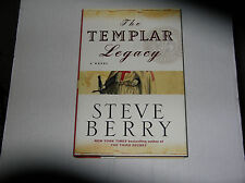 The Templar Legacy by Steve Berry (2006, Hardcover) SIGNED 1st/1st