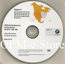 2007 2008 2009 BMW X5 X6 M5 M6 5Series Navigation DVD WEST Coast Map 2011 Update