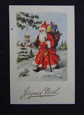 Carte postale JOYEUX NOEL Père XMAS Christmas SANTA CLAUS postcard Postkarte 4