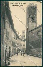 Pisa Montopoli Val d'Arno cartolina QQ3239