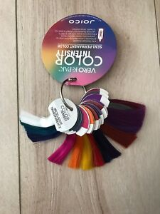 JOICO VERO K-PAK COLOR INTENSITY SEMI-PERMANENT HAIR COLOR RING 15 SWATCHES
