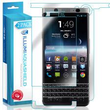 2x iLLumi AquaShield Front Screen + Back Panel Protector for Blackberry KEYone