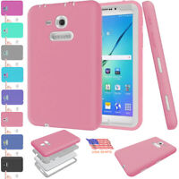 """Tablet Case Hybrid Rubber Shockproof Cover For Samsung Galaxy Tab A 7.0"""" SM-280"""