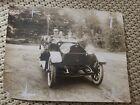 1910S HENDERSON 4 DOOR TOURING CAR RARE PHOTO MOTOR CO. INDIANAPOLIS AUTOMOTIVE