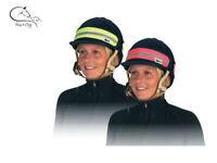 HyViz Hat Band HI Vis Fluorescent Yellow/Pink/ Rider Horse SAFETY FREE P&P