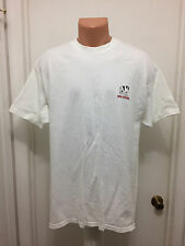 Big Dogs T Shirt XL White Fun &  Attitude Santa Barbara 100% Cotton