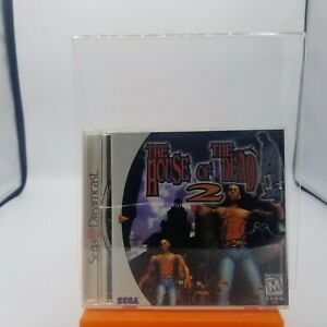 The House of the Dead 2 (Sega Dreamcast, 1999)  - Complete With Manual