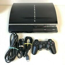 Playstation 3 Console System (PS3) 60GB, CECHA01, New Thermal Paste, Tested, Fat