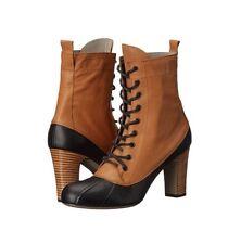 Vivienne Westwood Granny Duck Boot Black/Tan Multi 9/40 Msrp $520 NIB