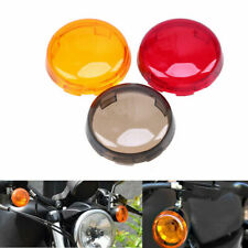 2x Turn Signal Light Red Lens Cover for Harley Electra Glide Sportster Touring