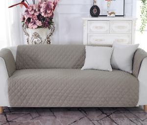 Couch Sofa Protector Lounge Cover Anti-slip Slipcover for Pet Kid 1/2/3/4 Seater