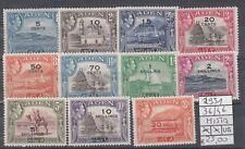Aden   1951 serie corrente  36-46 MISTA