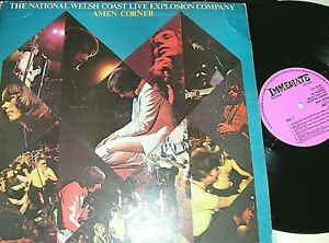 AMEN CORNER-   The National Welsh Coast Live Explosion Company,  ORIG 1969 UK LP