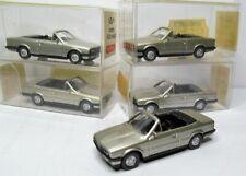Wiking 1:87 BMW 320I Cabriolet E30 3er silbern OVP - 5 Stück im Händlerkarton