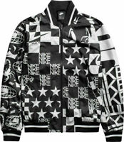 Nike Sportswear Allover Print Jacket Scorpion White Black AR1632-133 Size L