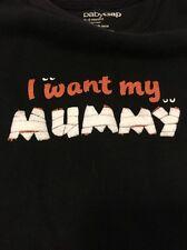 "babyGAP Halloween Graphic ""I Want My MUMMY"" Shirt/Bodysuit, size 3-6Mo"
