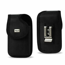iPhones 5 5S 5C REIKO HOLSTER CASE POUCH & CLIP works with LIFEPROOF & OTTERBOX