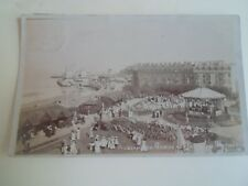 WEYMOUTH  Rare Old RPPC Alexandra Gardens+Pavilion+Bandstand Franked 1910 §A1782