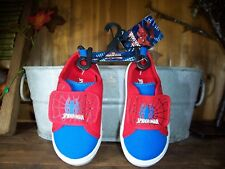 MARVEL SPIDERMAN BOYS TODDLER CASUAL SHOES SIZE 7 COLOR RED KIDS DRESS SHOES NEW