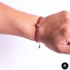 Kavak Handmade Bracelet Acerina Blood Fire Adjustable Women's Bracelet