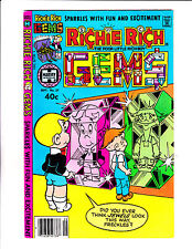 "Richie Rich Gems  No 27 : 1979 :"" Gem Mirrors Cover! """