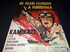 KAMIKAZE suicide pilots affiche cinema  1960