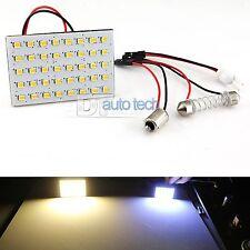 6X 1156 BA15S RV Trailer Interior 12V LED Light Panel Warm White High Power SMD