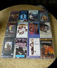 Bulk LOT of 12 VHS Movies ~ Searchers Virginian Spartacus Winslow CLASSICS BOXED