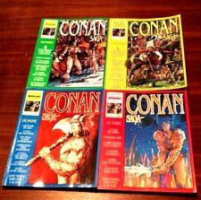Conan Saga serie 1-2-3-4 Comic Art