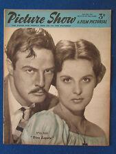 Picture Show Magazine - 26/4/1952 - Marlon Brando & Jean Peters Cover