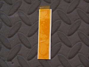 """Game Boy 5/8"""" x 1' Temperature Heat Resistant Polyimide Kapton Tape Gold"""