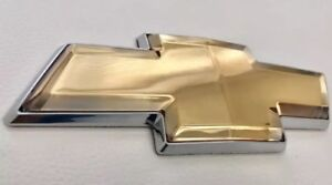 2006-2016 Chevy Impala & Monte Carlo Front or Rear Grille Bowtie Emblems Gold