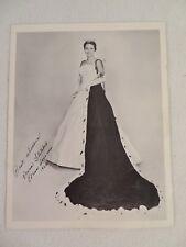 Autographed Photo Miss America 1962 Maria Beale Fletcher
