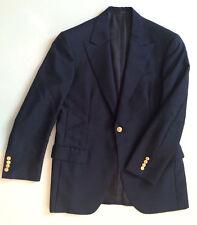 Oxxford Clothes Giacca, 100% LANA Escorial, fatto a mano, Bottone Singolo, doublevent