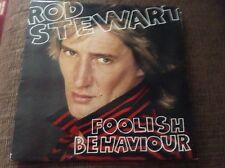 Rod Stewart - foolish behaviour - great condition uk vinyl album