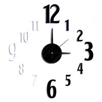 NEW! DIY SELF ADHESIVE WALL CLOCK - DO IT YOURSELF 3D INTERIOR TIME CLOCK