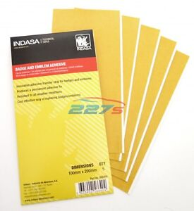Indasa Professional Car Badge & Emblem Adhesive / Glue