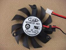 55mm VGA Video Card Fan ATI nVIDIA 39mm 6010M12F ND1 085