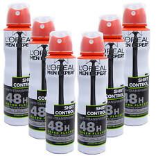 (24,07 €/L ) 6x 150 ml L'Oréal Men Expert Haut contrôle Antiperspirant déodorant