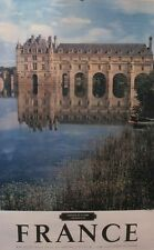 1950s ORIGINAL FRENCH TRAVEL POSTER, CHATEAUX DE LA LOIRE