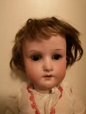 "Antique Heubach Koppelsdorf Bisque Doll Germany 18"" Wistful Face Boy/Girl 1920s"
