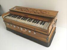 More details for wood bina harmonium indian double bellow piano organ (850js)