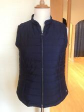 Bianca Gilet Size 18 BNWT Navy With Blue Polka Dots RRP £84.95 Now £38
