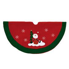 Premier Traditional 90cm Tree Skirt - Santa Design